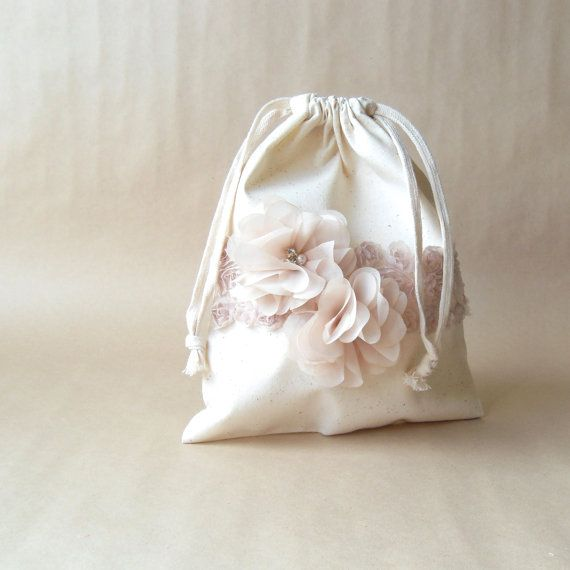 Dollar Dance Bag Brides Purse Money Flower By Paperflora