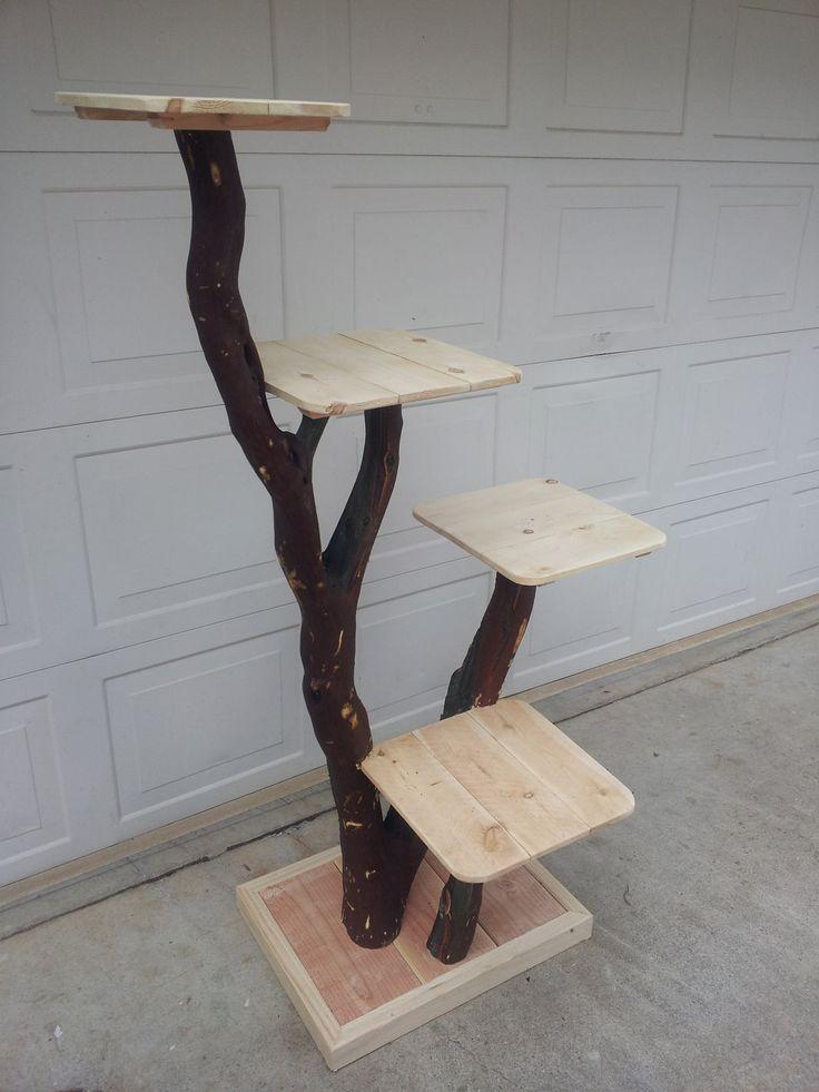 Cat tree or Cat Playground. $245.00, via Etsy.