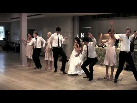 Surprise Bridal Party Wedding Dance Can You Feel