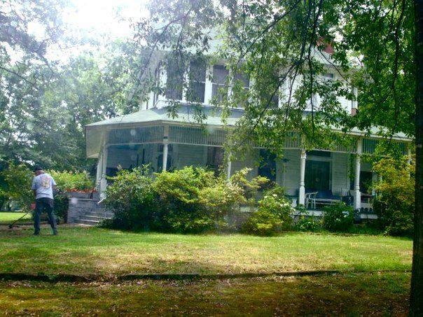 The 'Fried Green Tomatoes' House -  Senoia, GA (note unusual front door placement at corner of house)