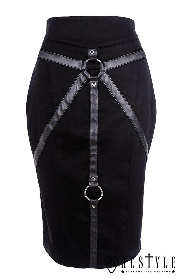 RESTYLE bondage skirt - size L-XL