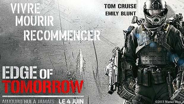 Edge of Tomorrow un film de Doug Liman avec Tom Cruise, Emily Blunt, dans un future proche, des Mimics, ont livré une bataille acharnée…