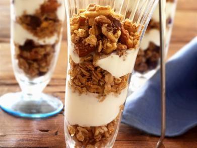 Yoghurt met granola