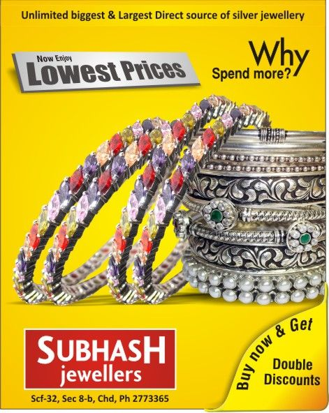 Matching #silver #jewellery to dazzle on your occasion....Subhash jewellers Scf 32, sector 8.b, (inner market) chandigarh, india Ph-9815496688