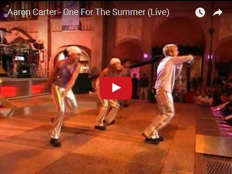 Watch: Aaron Carter - One For The Summer (Live) See lyrics here: http://aaroncarterlyrics.blogspot.com/2016/02/one-for-summer-lyrics-aaron-carter.html #lyricsdome