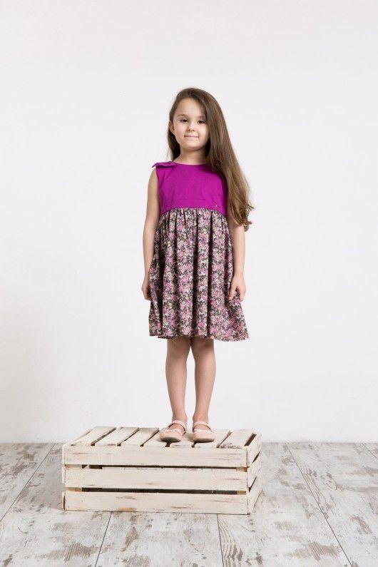 dziewczynka - moda - sukienki-Sukienka ANA