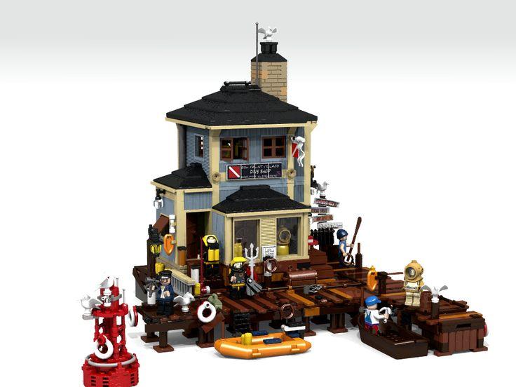 LEGO Ideas - The Dive Shop