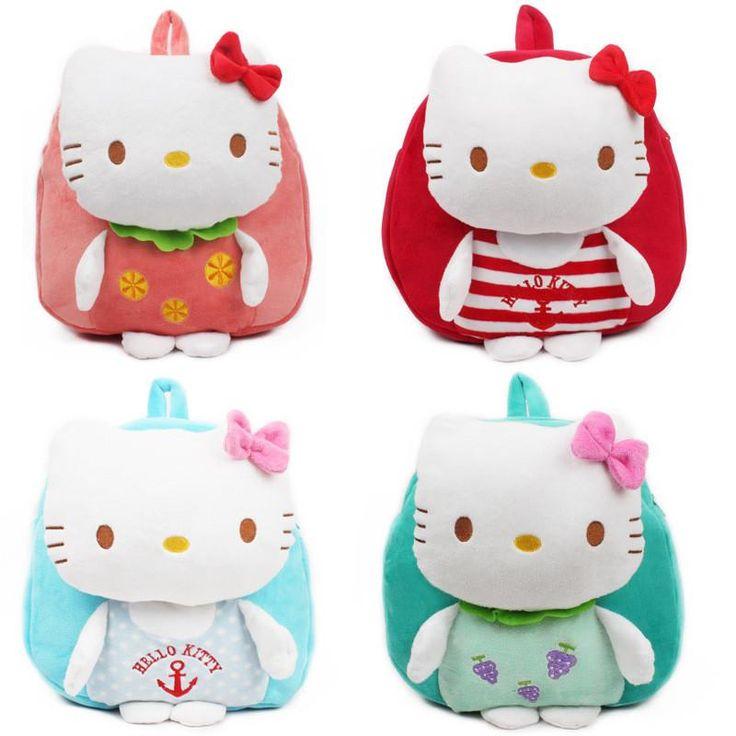 Cute Hello Kitty Kindergarten Backpack