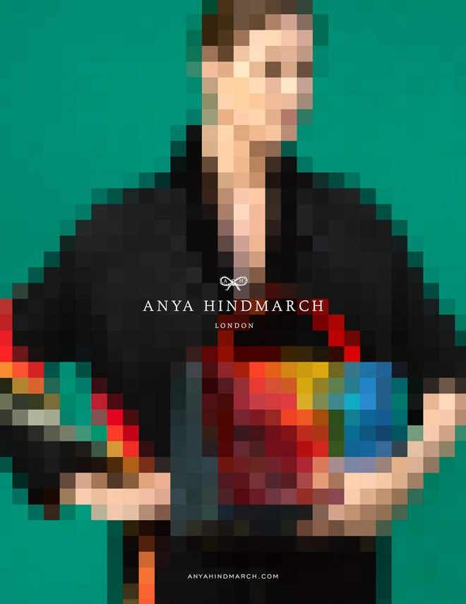写真をピクセルアート加工できるアプリ「アニヤ・ハインドマーチ」から登場   Fashionsnap.com