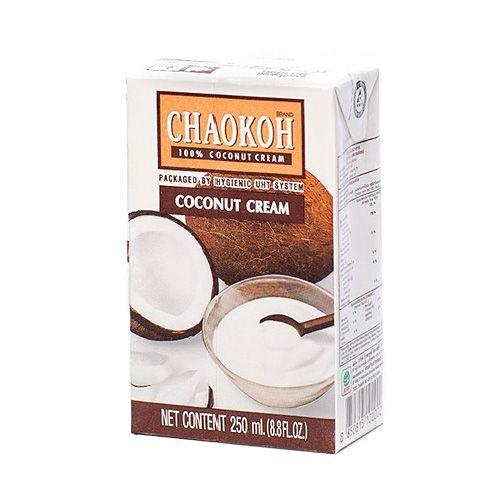 Купить кокосовые сливки CHAOKOH 250 мл chaokoh coconut cream заказать