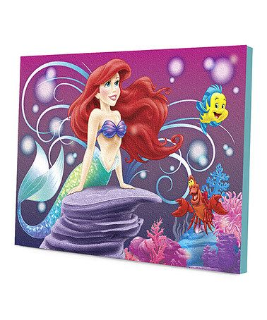 Love The Little Mermaid! Take a look at this Ariel Wall Art by Disney on #zulily today!