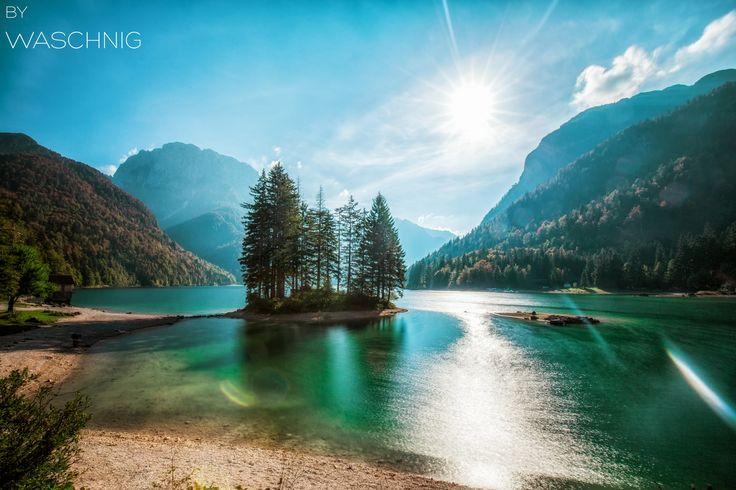 Lago del Predil, Italy by Daniel Waschnig on 500px