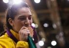 Mayra Aguiar - Medalha de Bronze no Judo