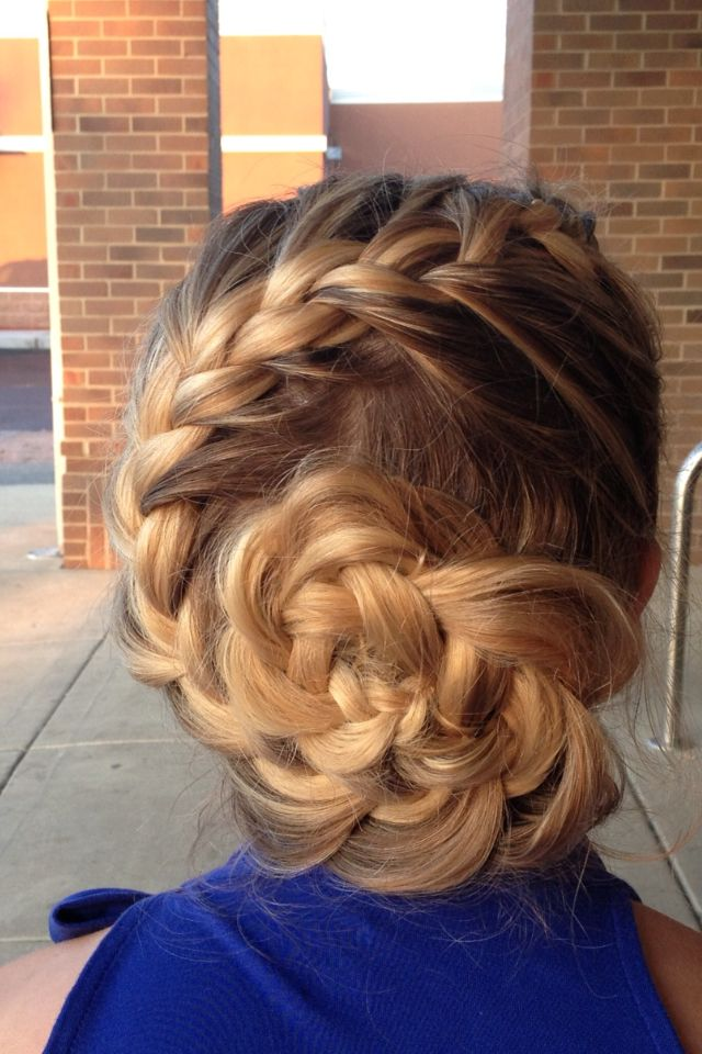 Fun Braids For Bad Hair Days: 1000+ Images About Cool Braids On Pinterest