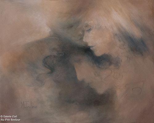 Madeleine Tailleur, 'Murmures', 24'' x 30''   Galerie d'art - Au P'tit Bonheur - Art Gallery