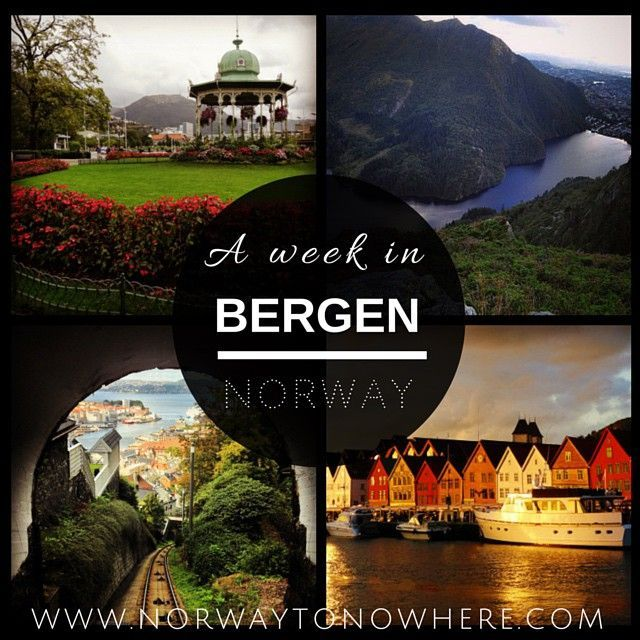 Click the image for highlights and tips to visiting gorgeous Bergen, Norway!  www.norwaytonowhere.com/a-week-in-bergen-norway/
