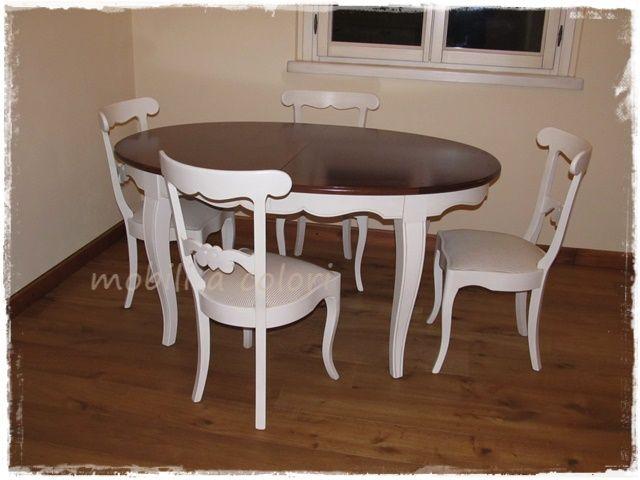 #arredamento stile #provenzale avorio patinato a mano, soggiorno, camera e camerette arredate con mobili di alta qualità by mobiliacolori.it