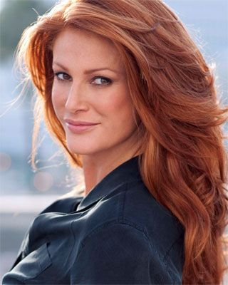Angie everhart red hair
