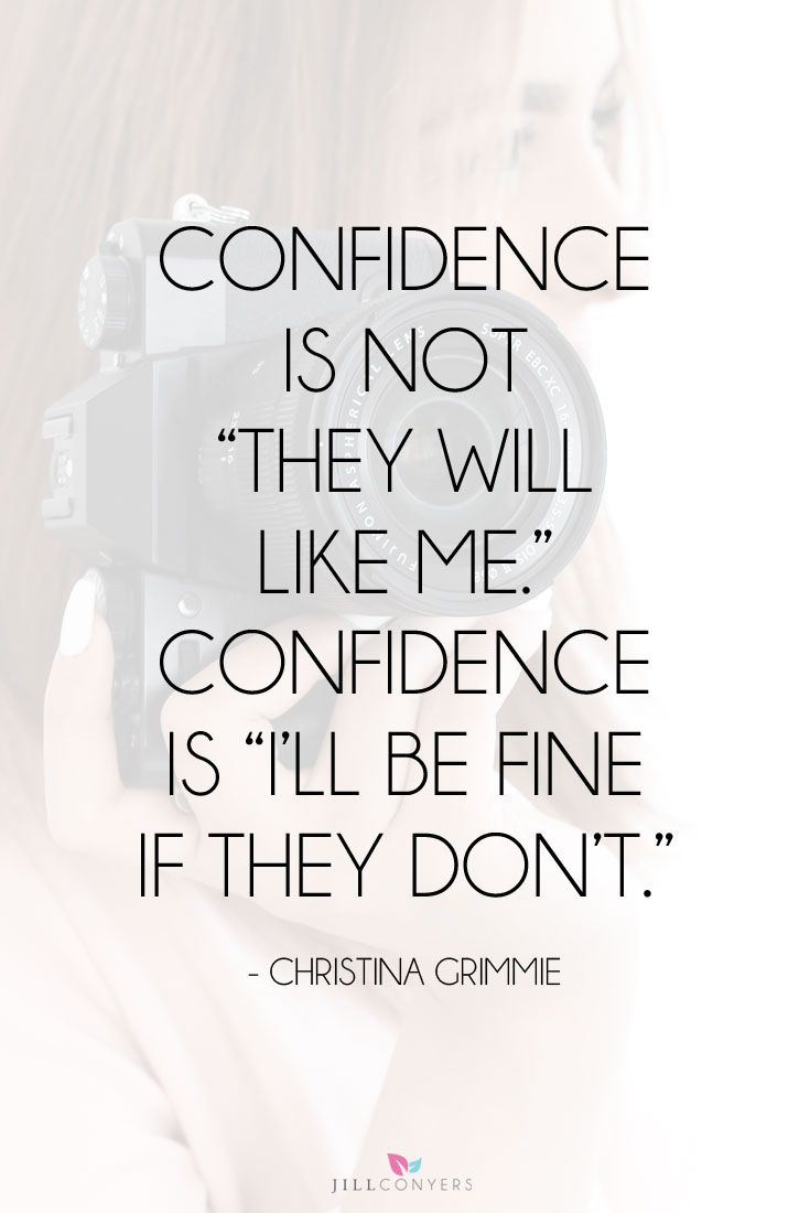Be Confident Quotes Best 35 Quotes For When You Need A Confidence Boost  Pinterest