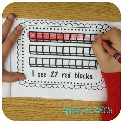 Math:  Place value.  Base ten block ideas & activities.