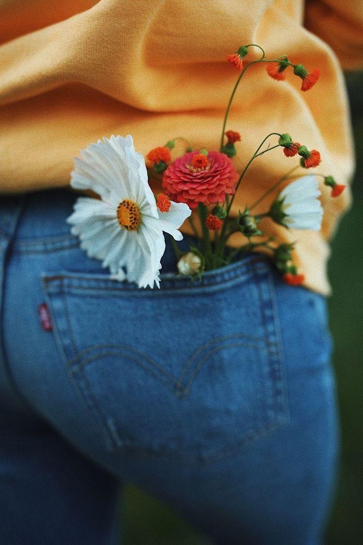 Los ramitos de flores de mi hija