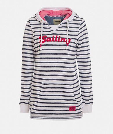 Sweatshirt às riscas Novidades Mulher | QUEBRAMAR - Shop Online