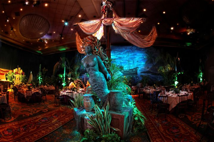 Caribbean Theme Party Ideas On Pinterest: Pirate's Of The Caribbean Themed Banquet Setting