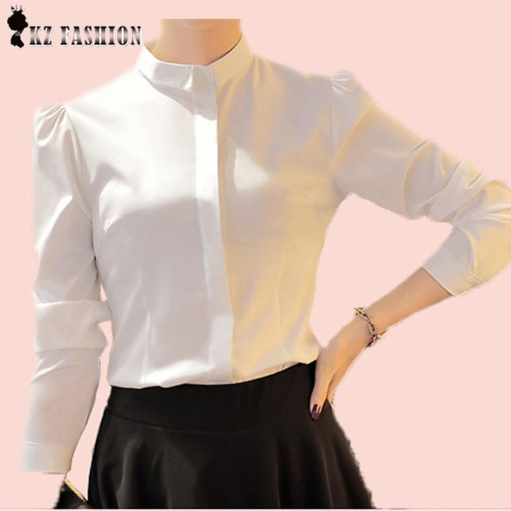 Autumn Fashion Brand long Sleeve Puff Shirt Women Single Breasted Top For Office Lady Design  Women Formal Blouse T65619R