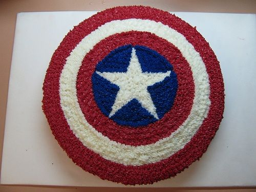 avenger cake - Google Search  this cake was made for my sons bday