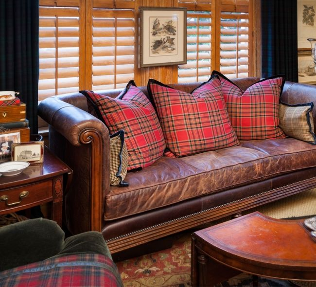 25+ Best Ideas About Plaid Sofa On Pinterest