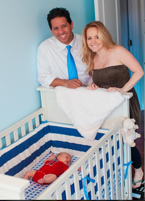 Kelly Stables chose our James Collection for her nursery!
