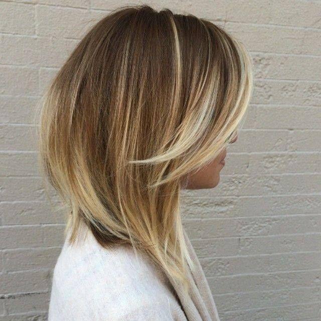 vlotte kapsels lang haar