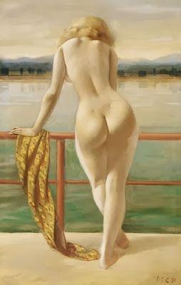 by Pál Molnár (1894-1981), By the Waterside,