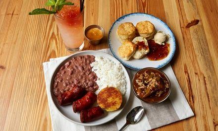 Louisiana Creole Gumbo restaurant - Michigan and Cass, 2nd floor; or Eastern Market area on Gratiot.