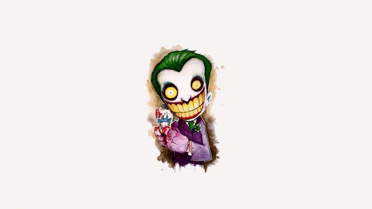 Joker Cartoon 4k Artwork