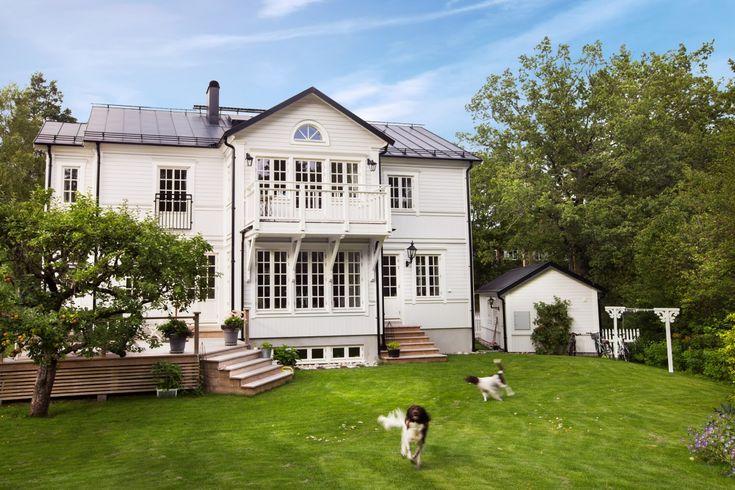 Nytt hus men fin fasad - Rörvikshus