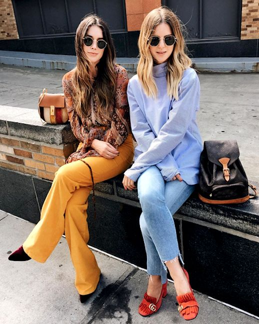 2 Chic 70's Inspired Looks To Try Now