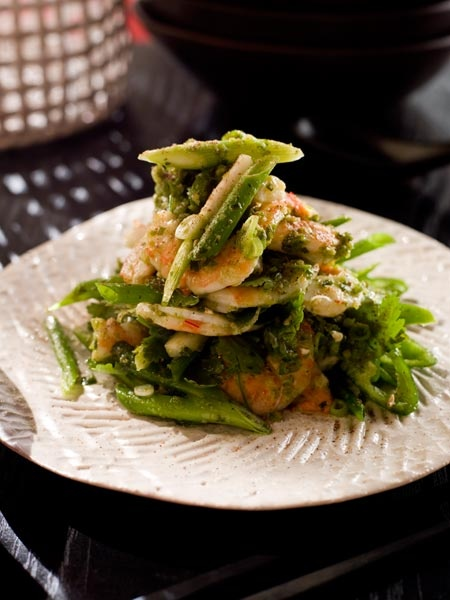 Spice Temple's Tingling Prawns seriously do make your tongue tingle!
