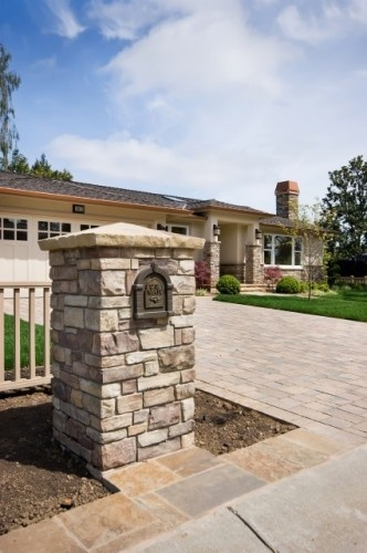 Well-liked 17 best Brick Mailboxes images on Pinterest   Mailbox ideas, Stone  NG54