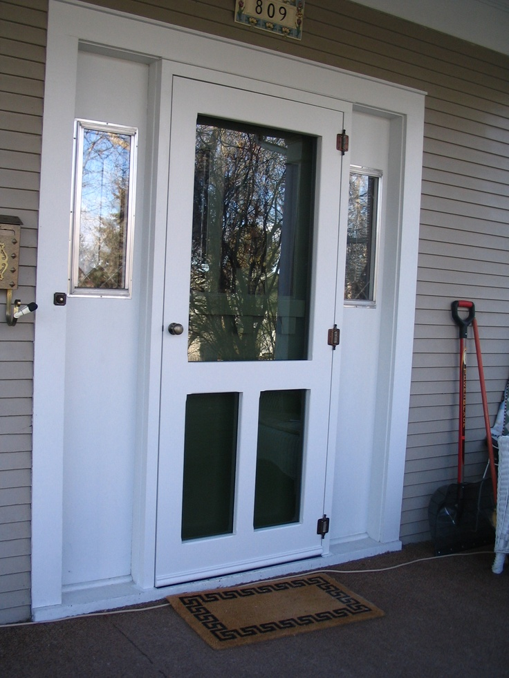 1000 images about screen storm doors on pinterest for Storm and screen doors