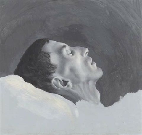 Dead young man, 1936, by Pyke Koch