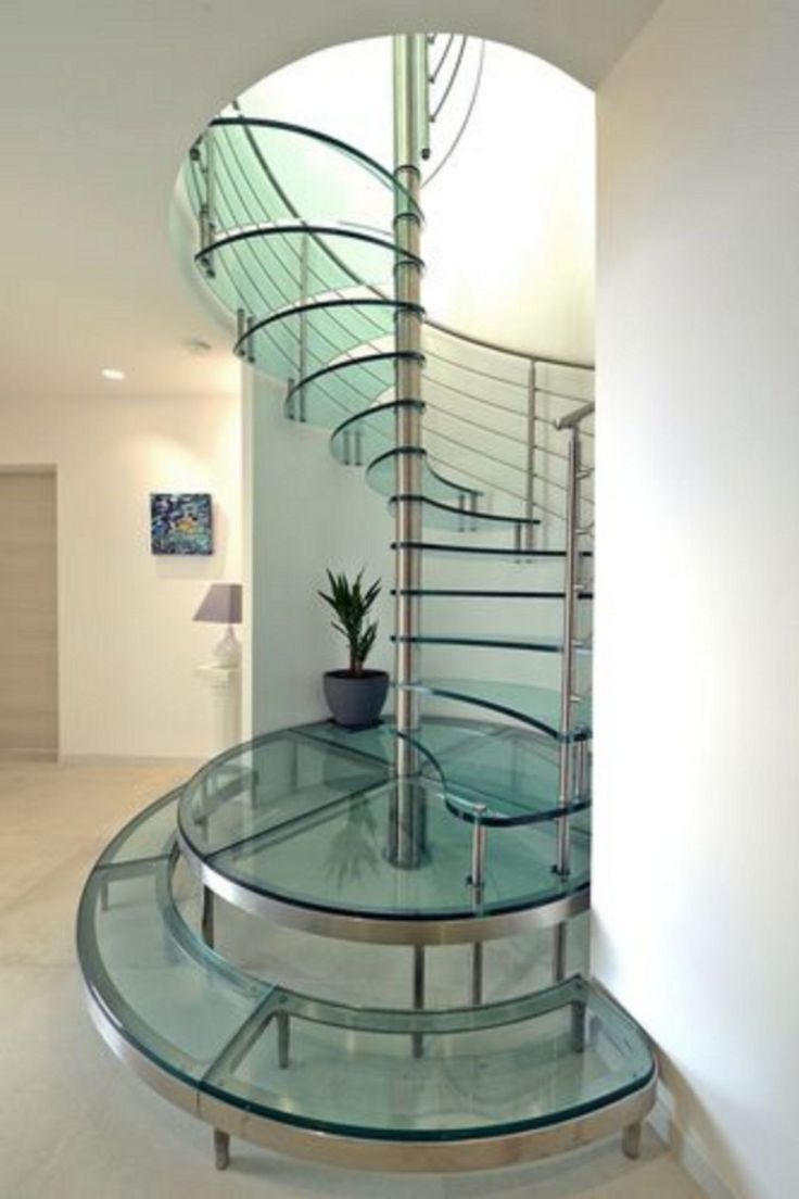 Best 20 Amazing Glass Staircase Ideas To Inspire You Glass 640 x 480