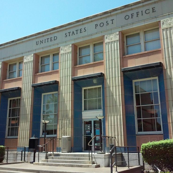 Downtown Post Office In Eugene Oregon. It Is On The