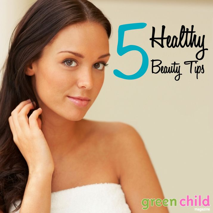 Healthy Beauty Tips for Expecting Moms