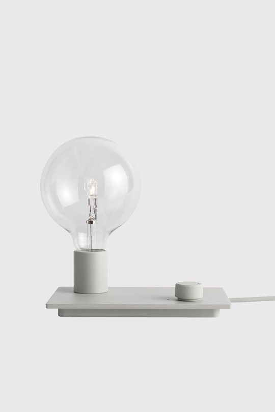 Muuto - Control table lamp Grey large-1