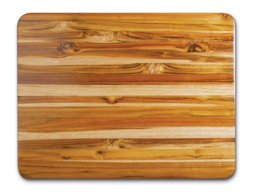 Proteak Teak Cutting Board Rectangle 24 By 18 By 1 1 2