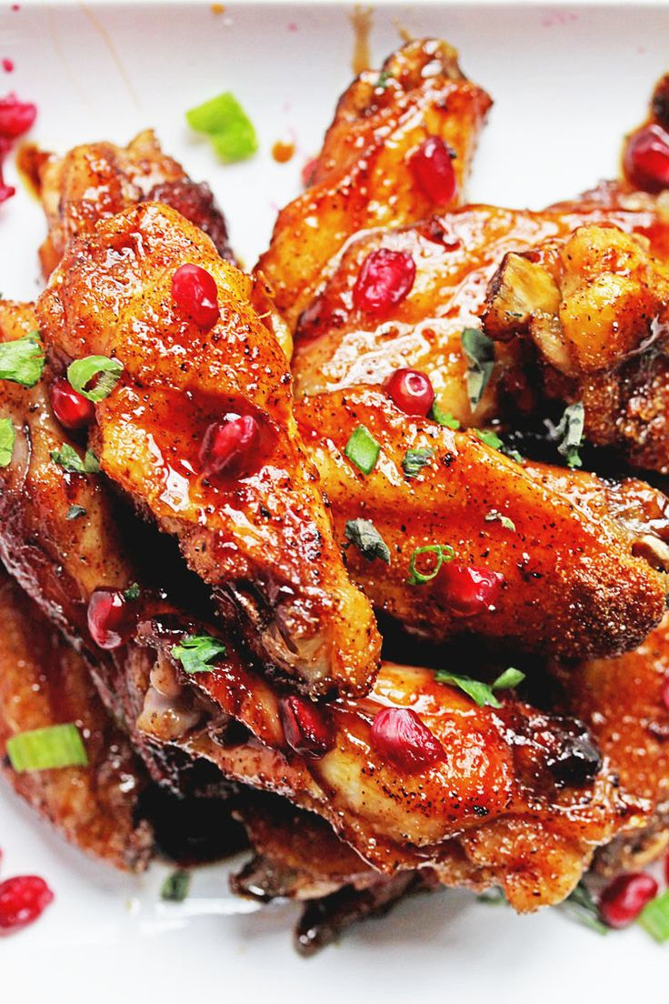 Uniquely flavorful and sensationally delicious pomegranate wings get upgraded to pomegranate honey wings perfect for entertaining. With the Super Bowl around the corner, I am pretty sure you have an insane amount of wing options taking over your blog feed. Well I didn't want to go cliche' and give you the standard buffalo wings (even …