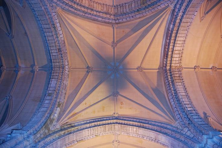 Ceiling of a Cathedral in Dornoch, Scotland