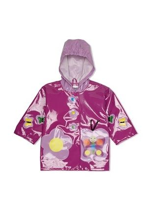 42% OFF Kidorable Butterfly Raincoat (Purple)