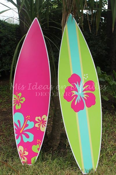 Tablas de surf para decorar